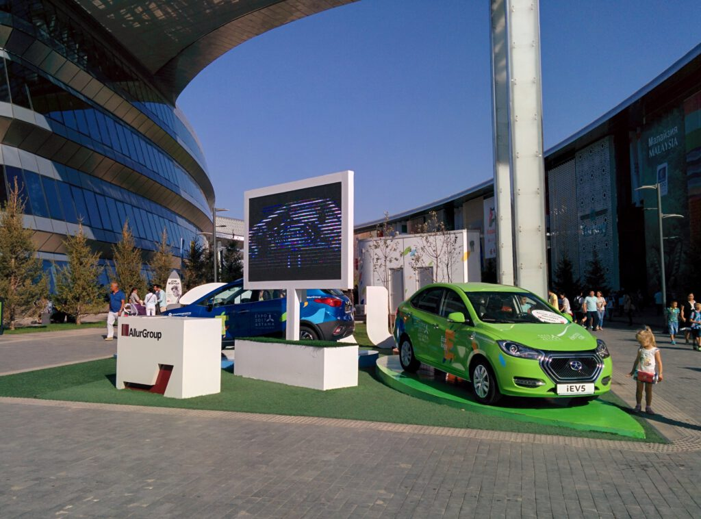 Info Shymkent - Expo 2017 - Chinese Electric Cars in Kazakhstan