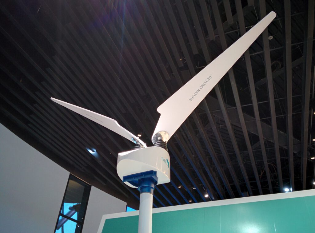 Info Shymkent - Expo2017 - A winged windmill