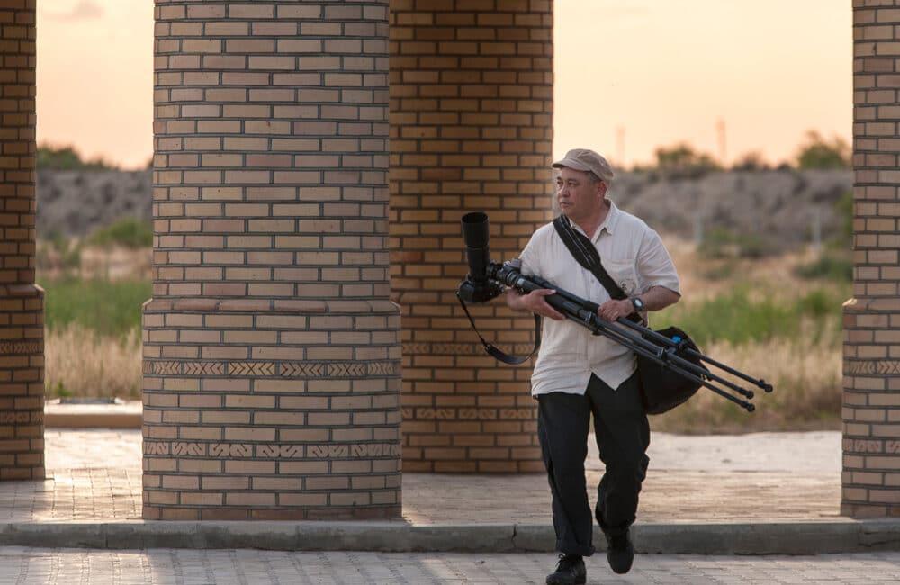 Info Shymkent - National Geographic Photographer Yerbolat Shadrakhov from Kazakhstan at work