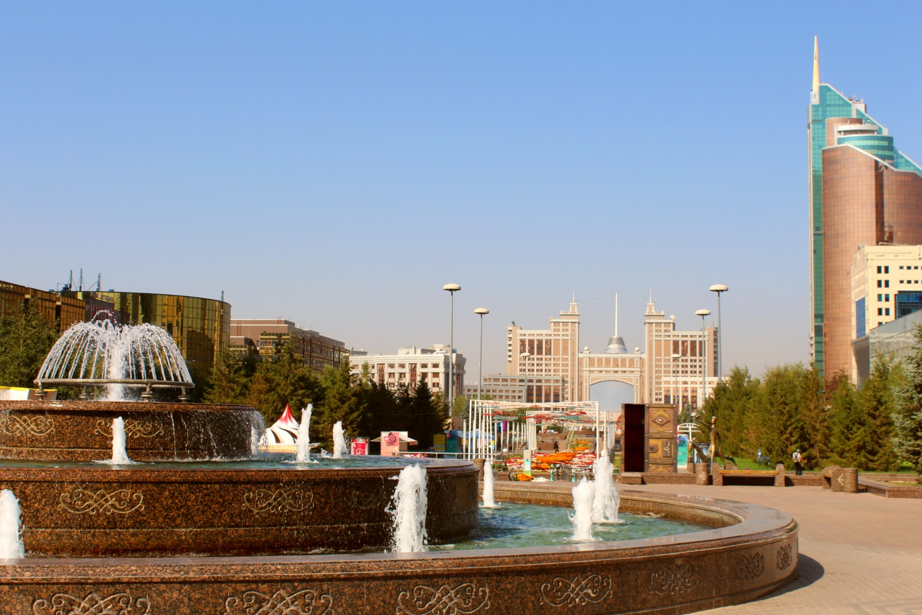 Info Shymkent - International Skyscraper Day with Skyline of Nur-Sultan