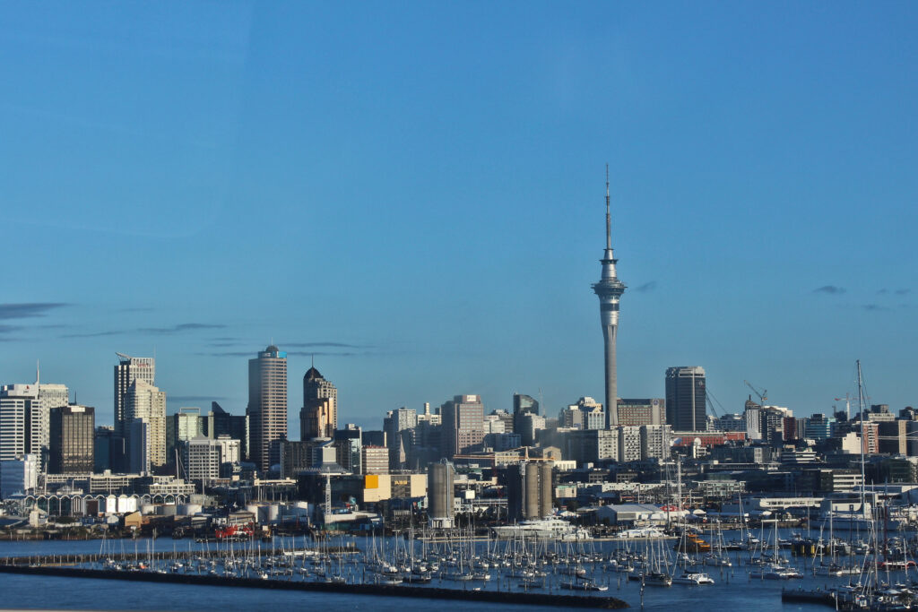 Info Shymkent - Skyline of Auckland