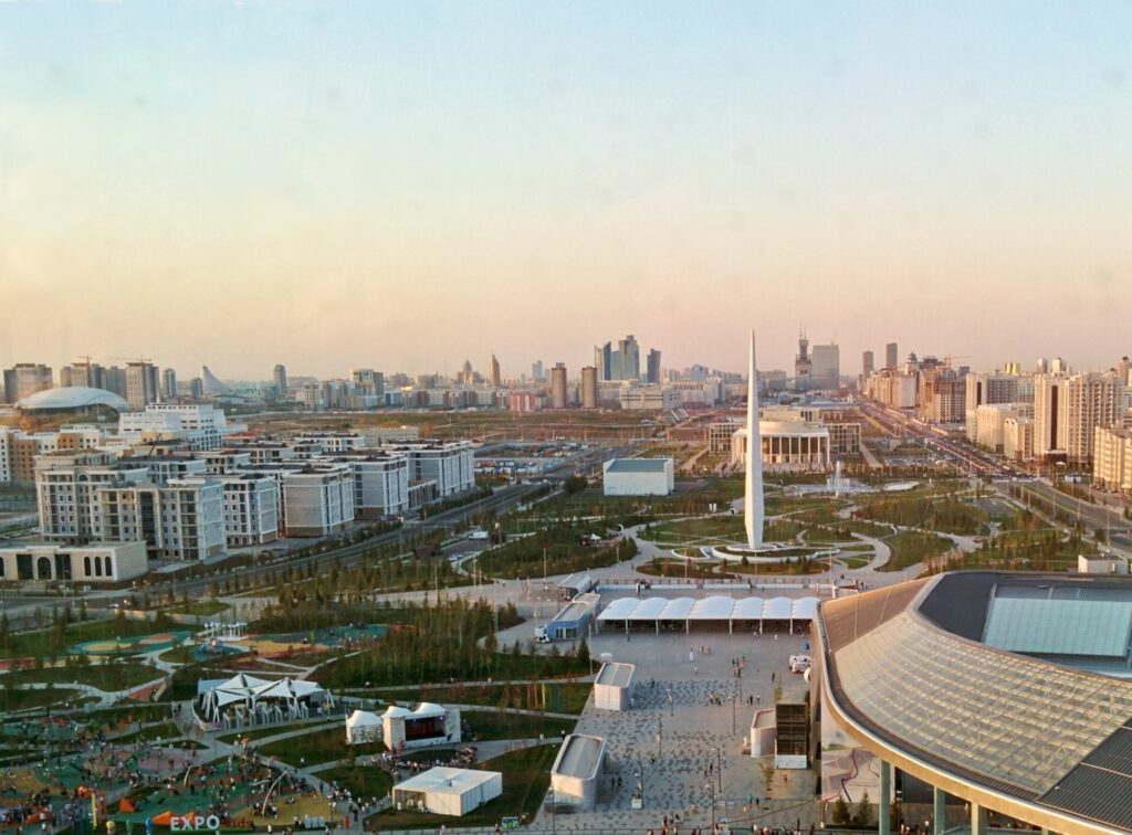 Info Shymkent - Skyline of Nur-Sultan