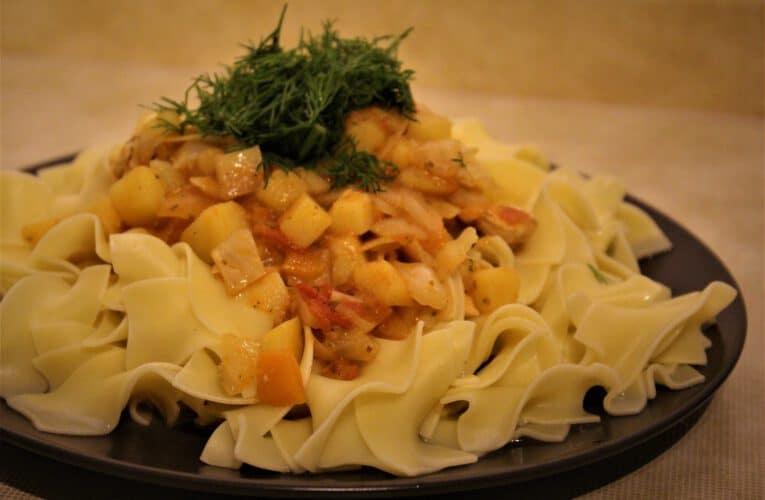 Info Shymkent - Kazakh meal Nansalma is ready to eat