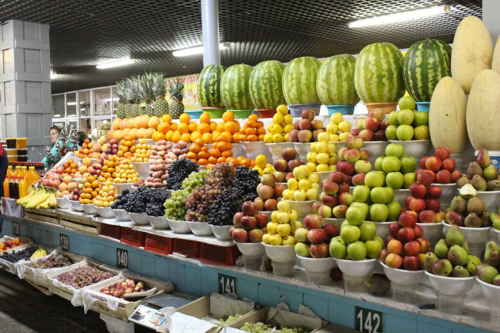 Info Shymkent - Green Bazar in Almaty, Kazakhstan