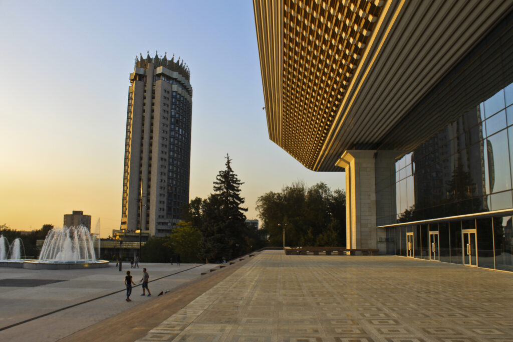 Info Shymkent - Soviet Architecture in Almaty, Kazakhstan