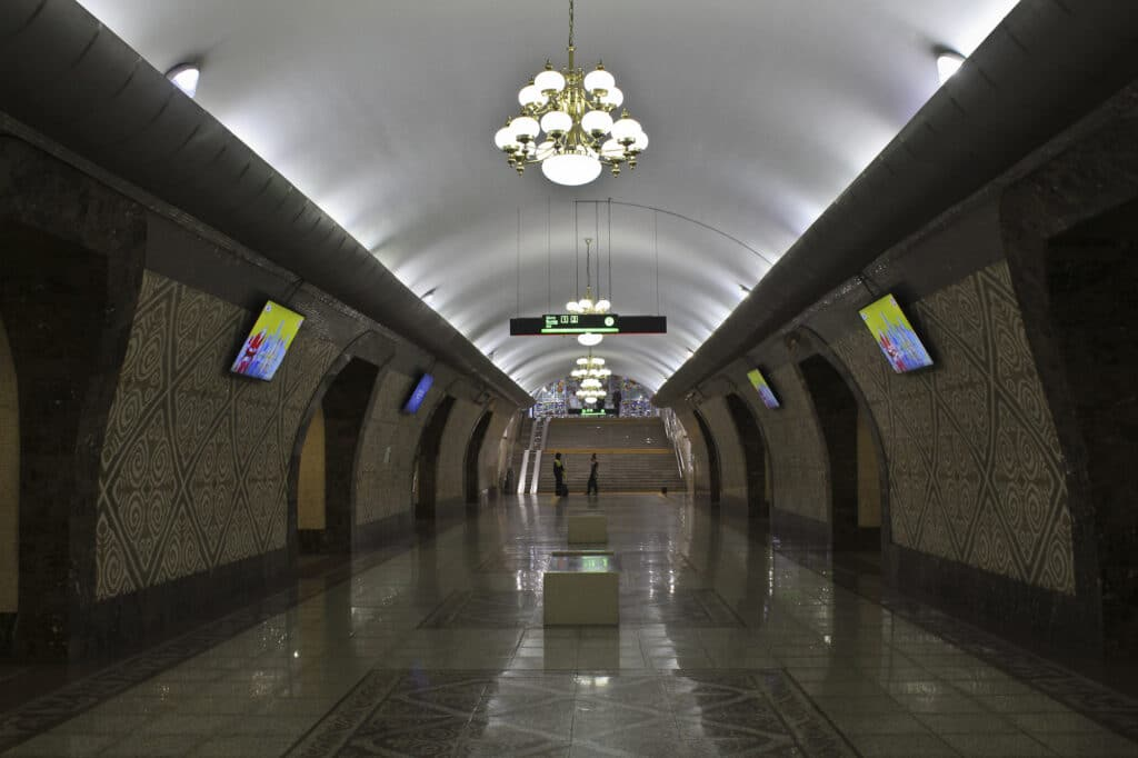 Info Shymkent - Almaty's beautiful new Metro