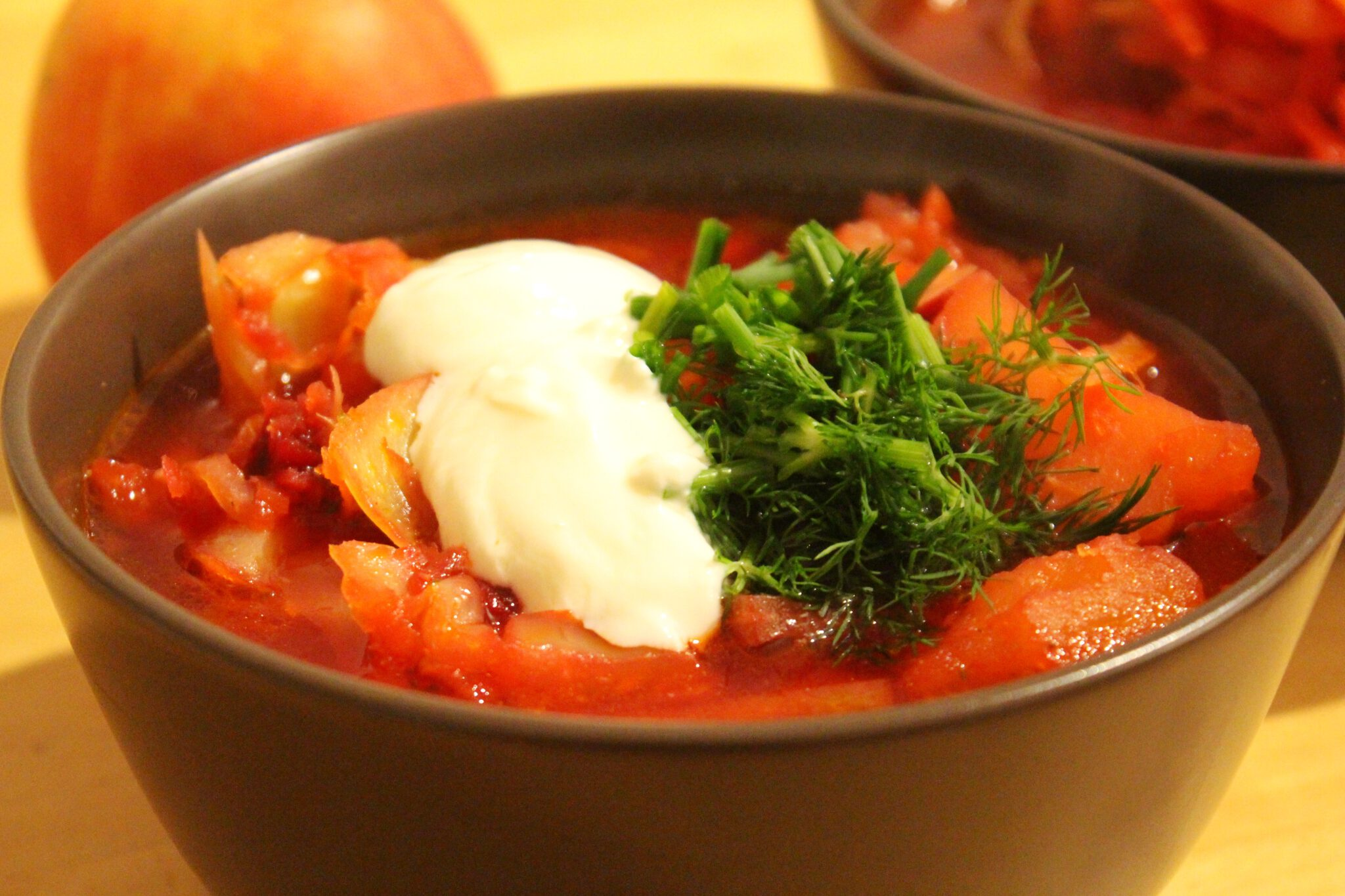 Info Shymkent - Ready cooked vegetarian Borscht