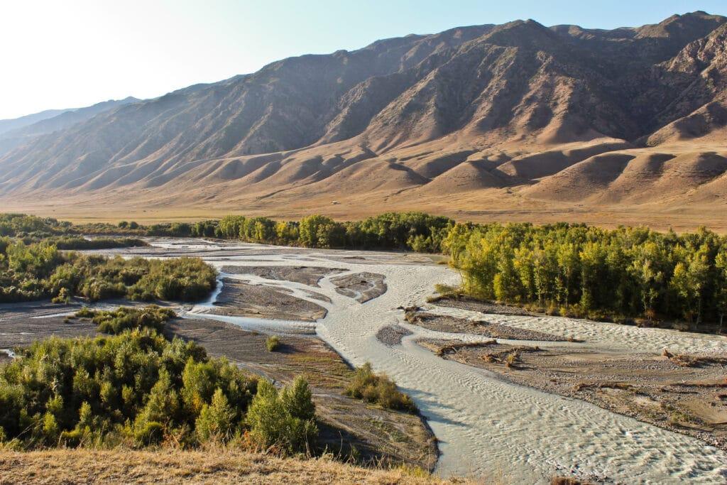 Info Shymkent - Shylek River near Kolsai Lakes, Kazakhstan
