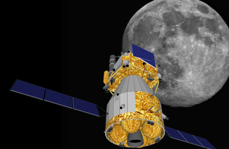 Rocks from Moon – Chinese Chang'e 5 is flying back to Earth