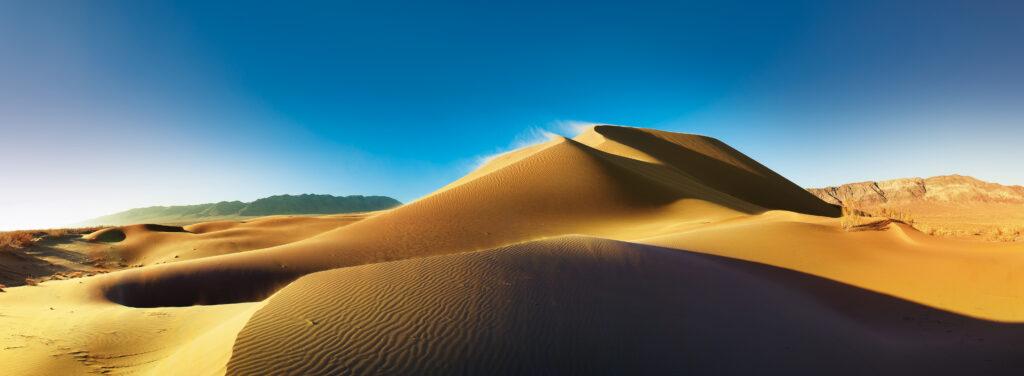 Info Shymkent - Wind over the singing Dunes in Altyn Emel National park of Kazakhstan (Image: Farhat Kabdykairov)