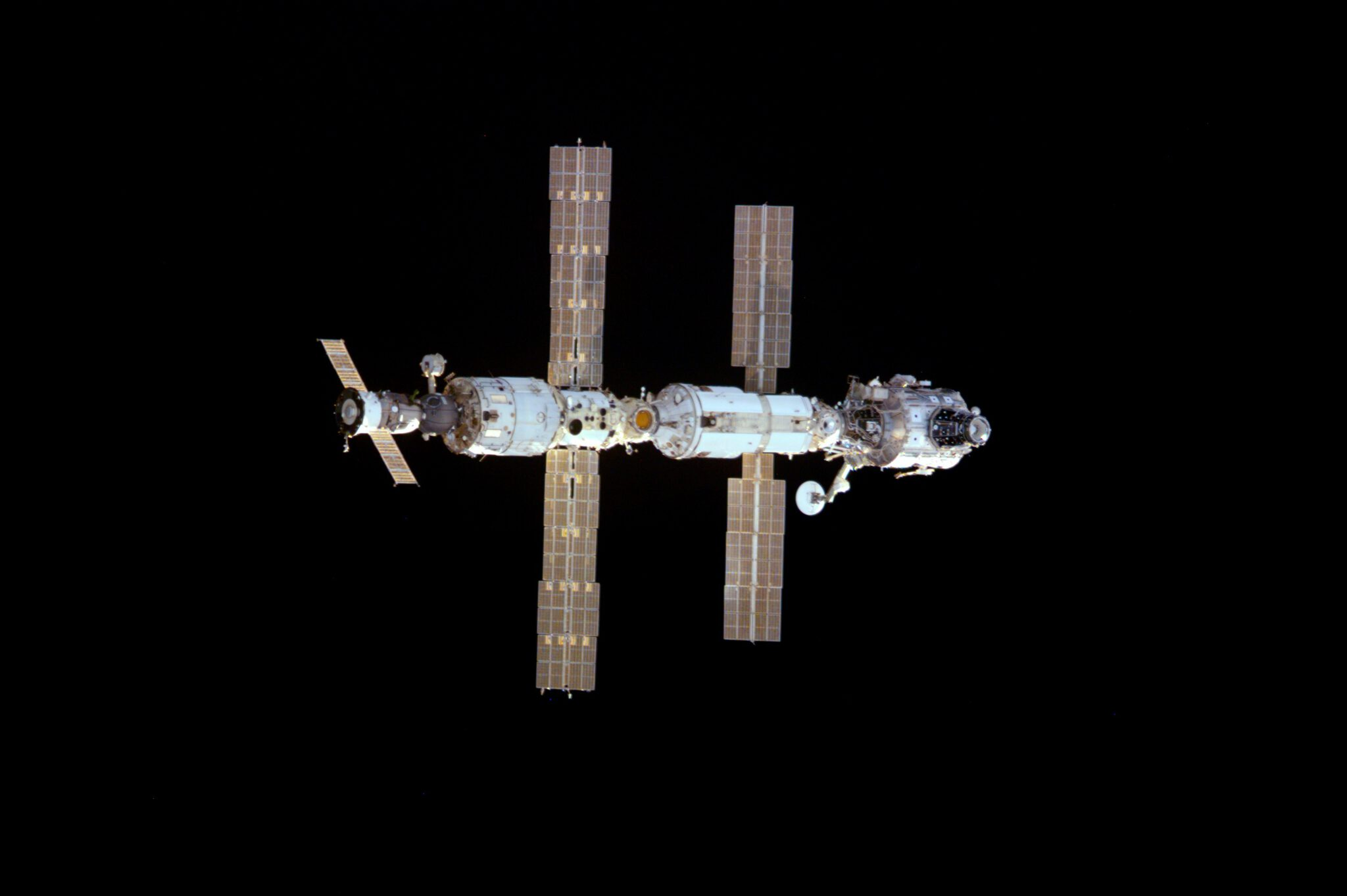 Info Shymkent - 20 years humans in space (Image: NASA)