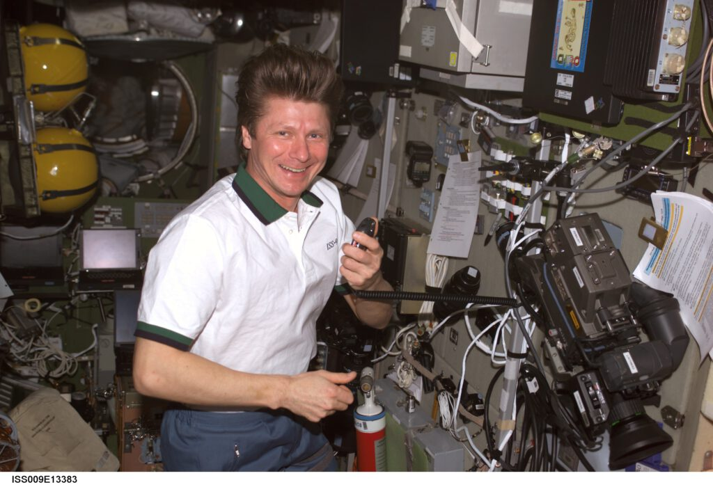 Info Shymkent - 20 years human presence in space - Record holder Gennady Padalka (Image: NASA)