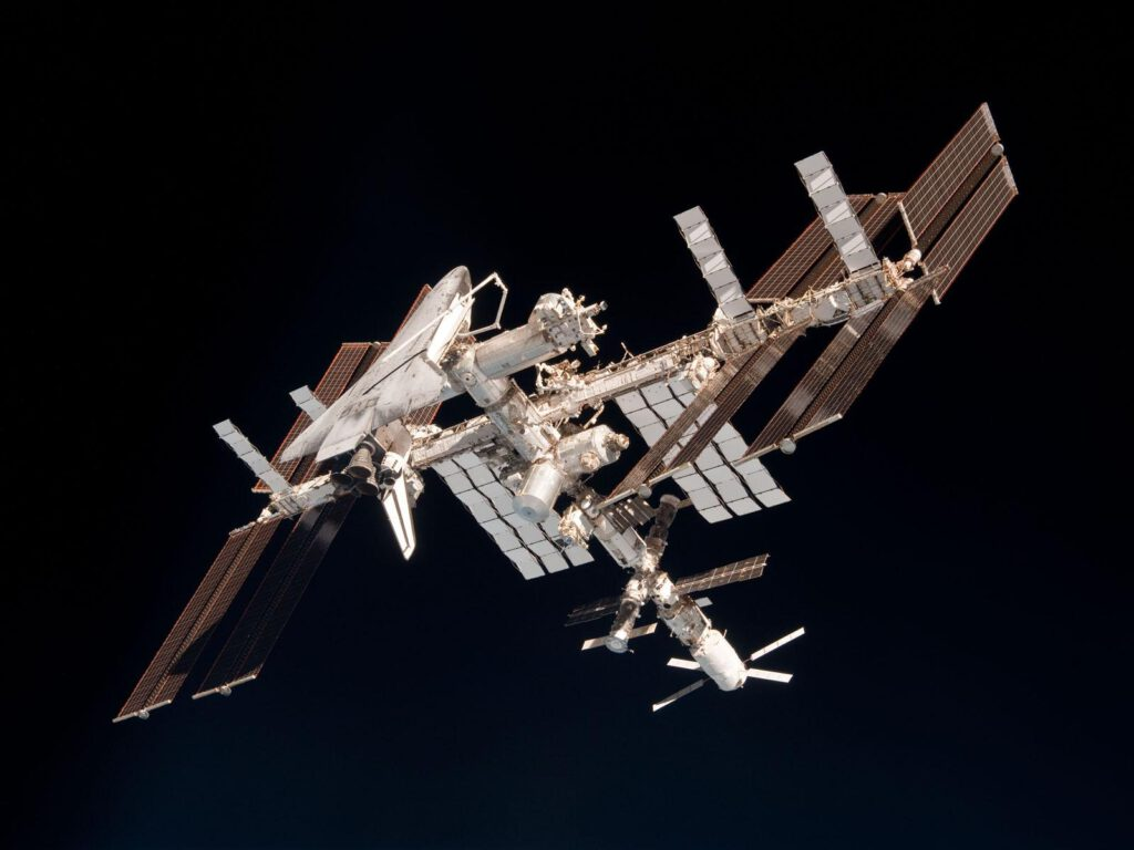 Info Shymkent - Spaceflight 2021: The International Space Stations will welcome tourists again. (Image: Roscosmos/NASA)