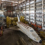 InfoShymkent - French photographer Jonk visited the two Buran in Baikonur Cosmodrome