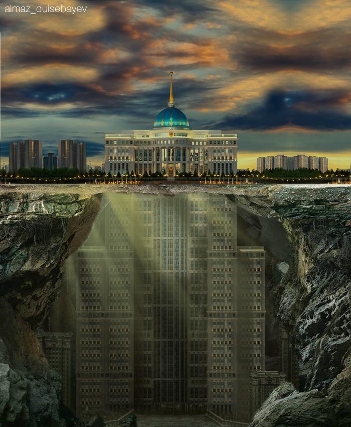 Info Shymkent - Almaz Duisebayev - Nur-Sultan's Ak Orda