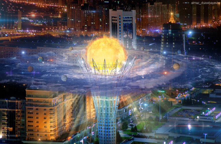 The Secret underground of Nur-Sultan: Art of Artist Almaz Duisebayev