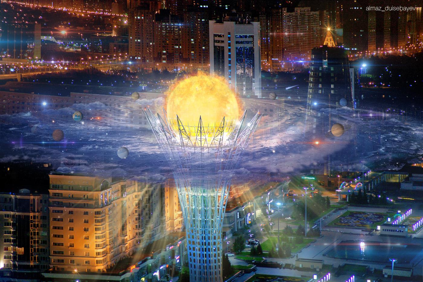 Info Shymkent - Almaz Duisebayev - Nur-Sultan's Baiterek Tower