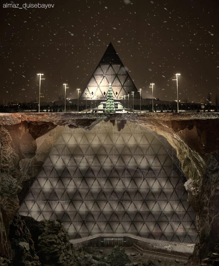 Info Shymkent - Almaz Duisebayev - Nur-Sultan's Pyramid