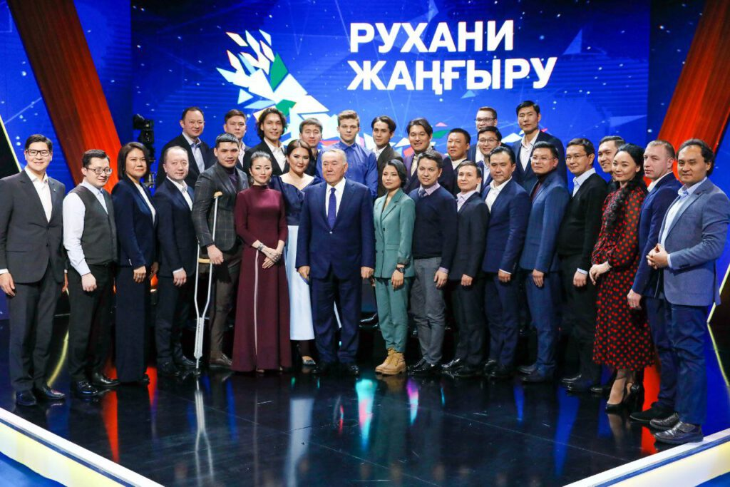 "Info Shymkent - Aidos Esmagambetov meeting with ""real"" Nazarbayev"