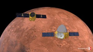 Info Shymkent - Tianwen-1 and Al-Amal at Mars