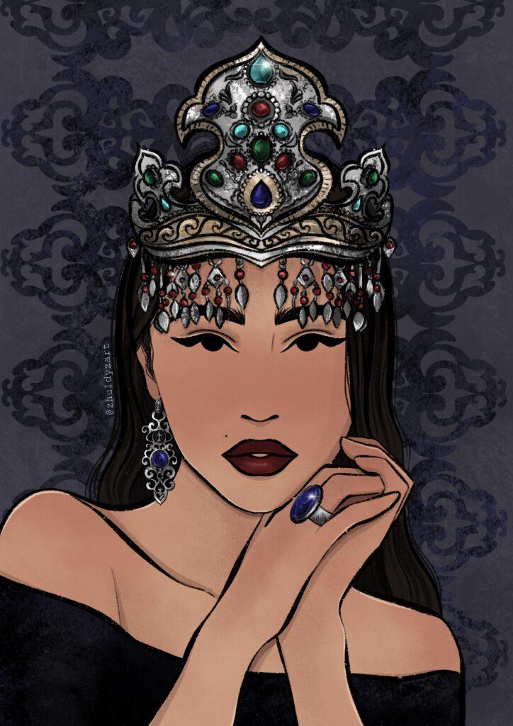 Info Shymkent - Zhuldyz Zholbarys from Kazakhstan - Untitled Artwork 5