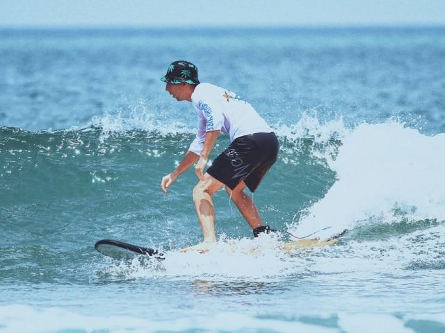 Info Shymkent - Alexandr Kuznetsov - Surfing in Caspian Sea