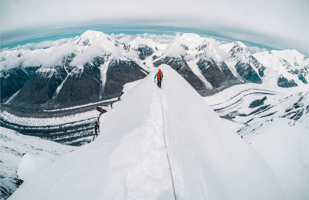 Info Shymkent - Alexandr Kuznetsov - On the Peaks of Tian Shan Mountains in Kazakhstan