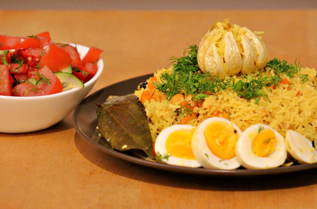Info Shymkent - Kazakh Plov a famous dish in Central Asia