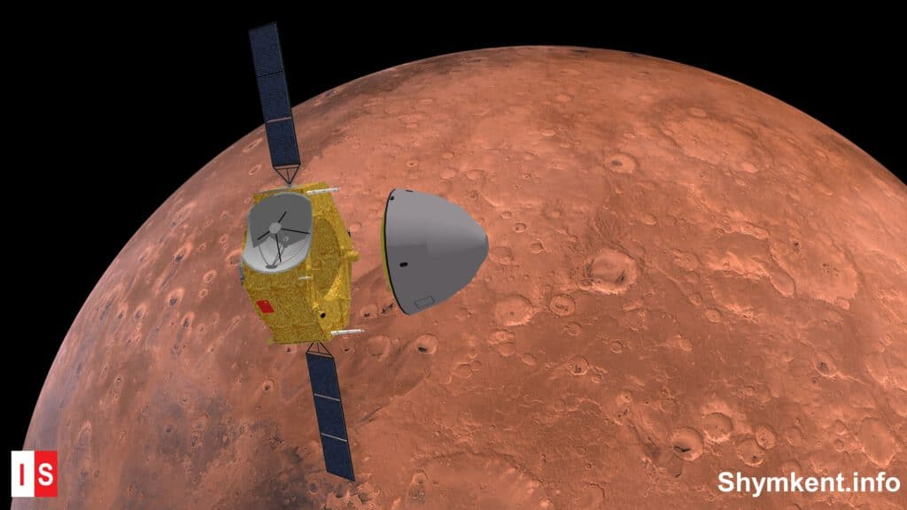 Info Shymkent - Landing attempt of Chinese Mars Rover Zhurong