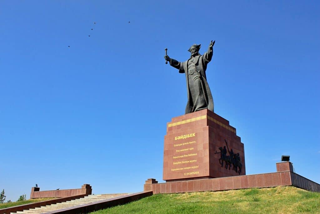 Info Shymkent - Baydibek Bi monument in Shymkent, Kazakhstan