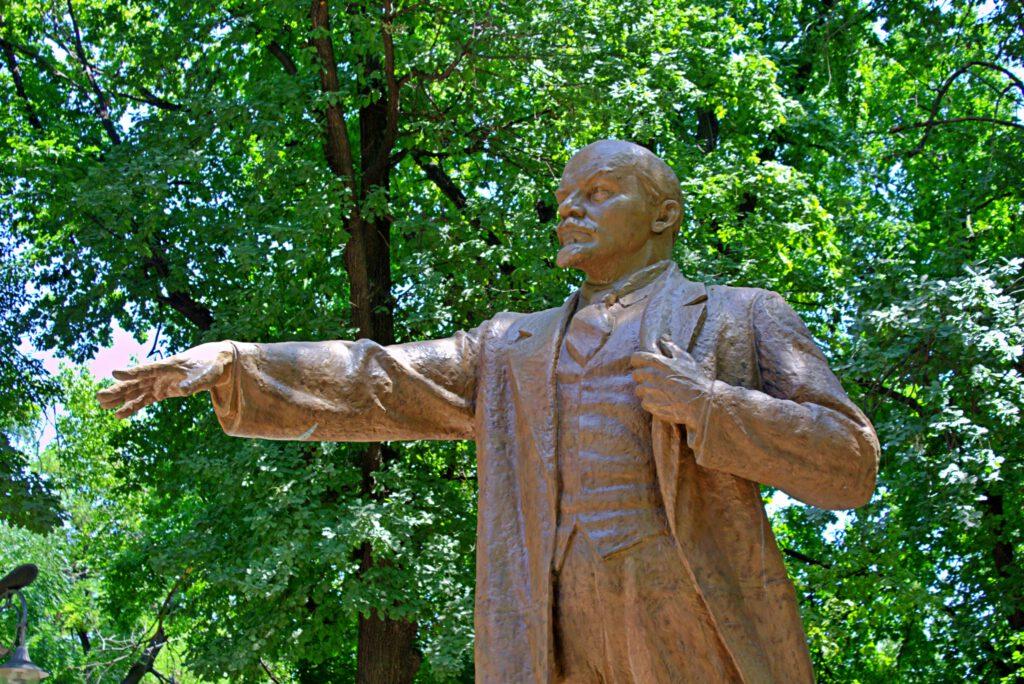Info Shymkent - Lenin Statue in the Metallurgist Park in Shymkent