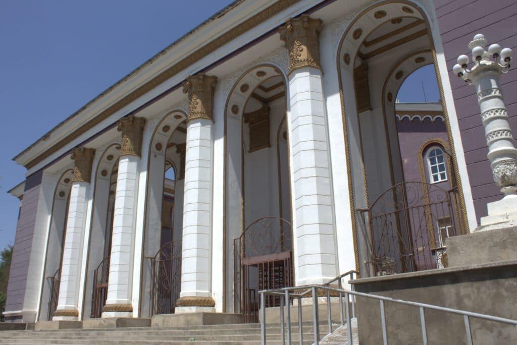 Info Shymkent - Beautiful Metallurgist Palace in Metallurgist Park in Shymkent