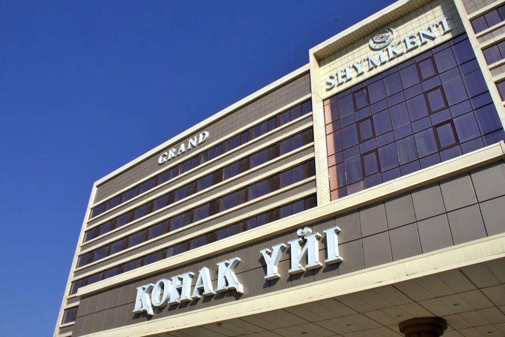 Info Shymkent - Outside view of Shymkent Grand Hotel