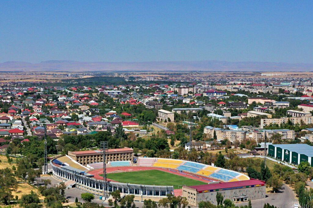 "Info Shymkent - Stadium ""Kazymukan Munaitpasov"" of FC Ordabassy in Shymkent"