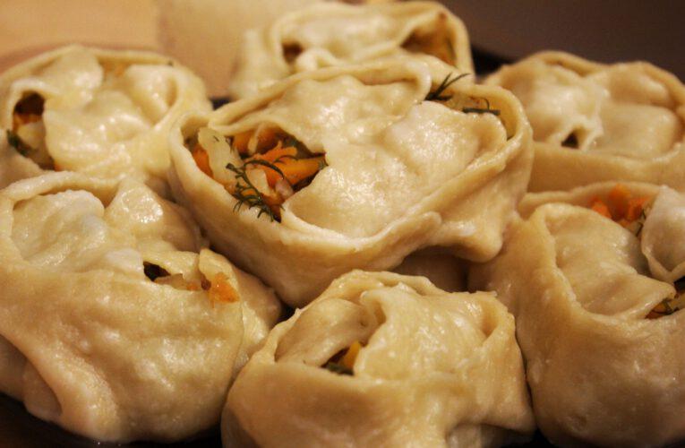 Info Shymkent - Kazakh dumplings Manti.