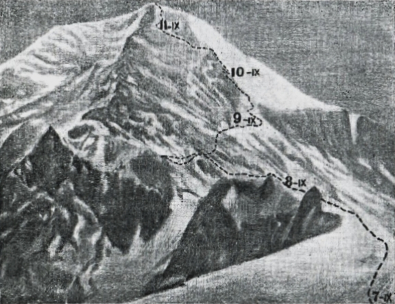 Info Shymkent - Route of the first climbers who reached the summit of Khan Tengri