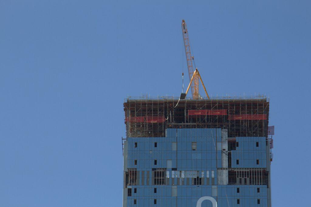 Info Shymkent - Last work on the top of Abu Dhabi Plaza in Nur-Sultan, Kazakhstan in 2021